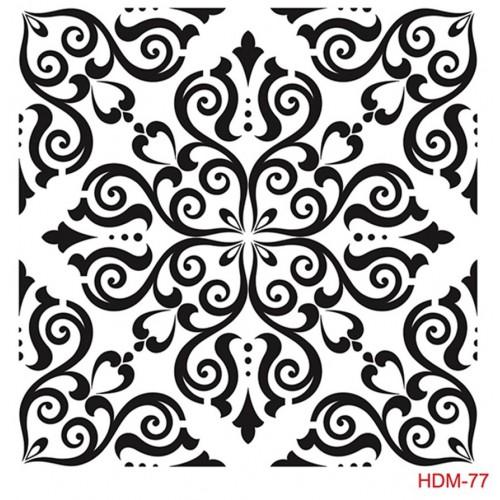 SZABLON - ORNAMENT 25x25 CM