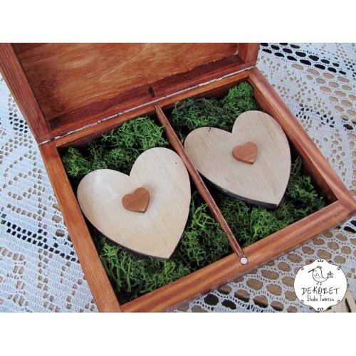 Pudełko na obrączki LOVE