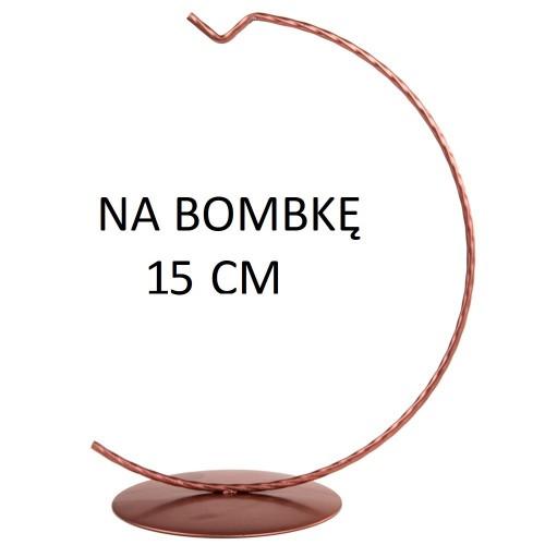STOJAK NA BOMBKĘ 15 CM ROSE GOLD