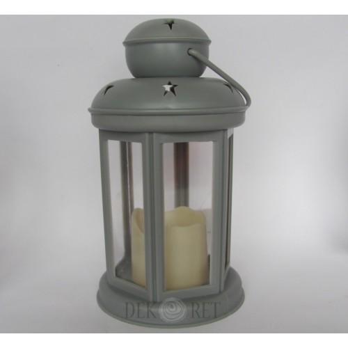 LAMPION SZARY