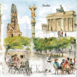 SERWETKA - BERLIN 4 OBRAZKI