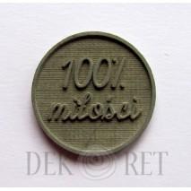 STEMPEL - 100% MIŁOŚCI 2,5CM