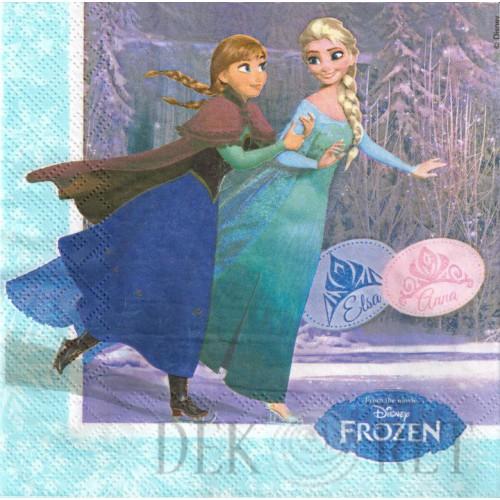 SERWETKA - ANNA, ELSA, OLAF