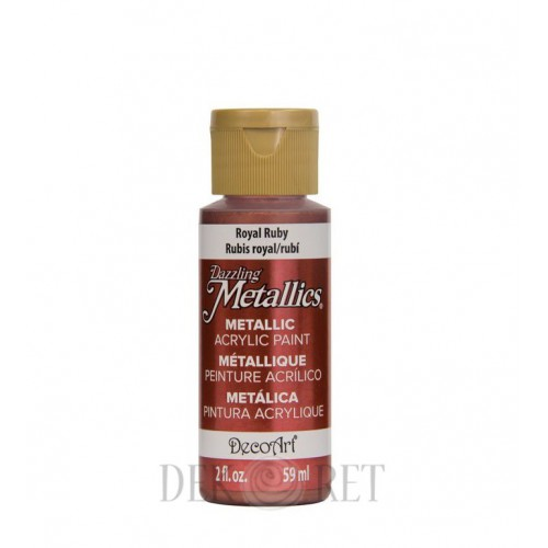 FARBA METALLICS - ROYAL RUBY 59ML