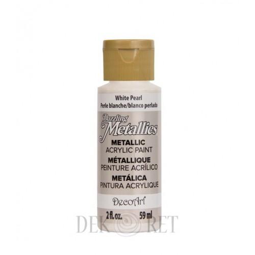 FARBA METALLICS - WHITE PEARL 59ML