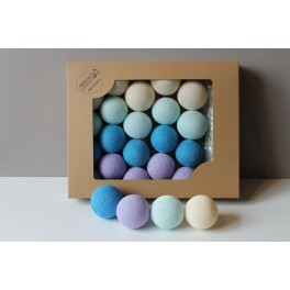 COTTON BALLS - LAWENDOWE 10 KUL