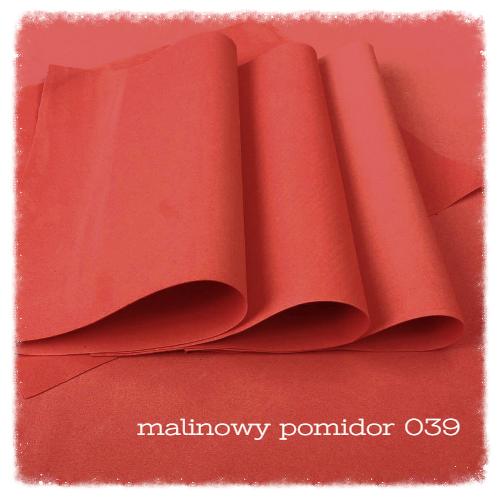 FOAMIRAN PIANKA 30X35 CM MALINOWY POMIDOR