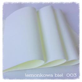 FOAMIRAN PIANKA 30X35 CM LEMONKOWA BIEL