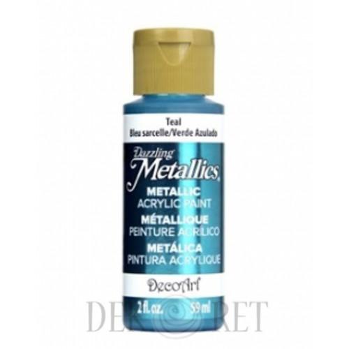 FARBA METALLICS - TEAL 59ML