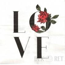 SERWETKA - LOVE