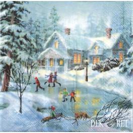 http://dekoret.pl/9100-thickbox_org/serwetka-dzieci-na-lodowisku-zimowy-widok.jpg