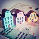 Makiety domków z kartonu