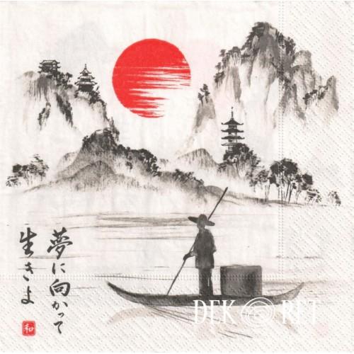 SERWETKA - WIDOCZEK Z CHIN