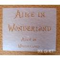 SZABLON DO DECOUPAGE ALICE IN WONDERLAND 20x25 CM