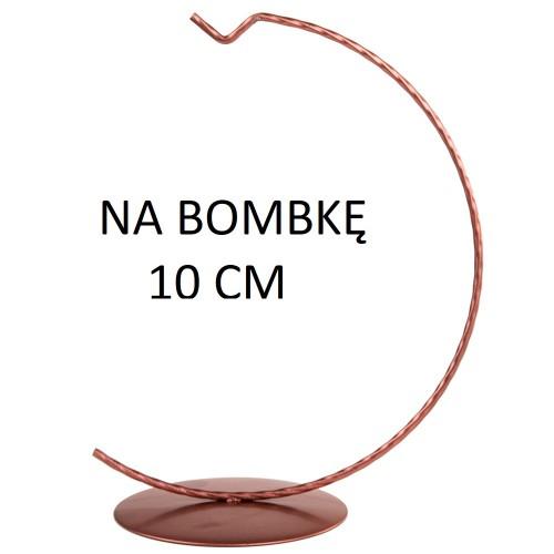 STOJAK NA BOMBKĘ 10 CM ROSE GOLD