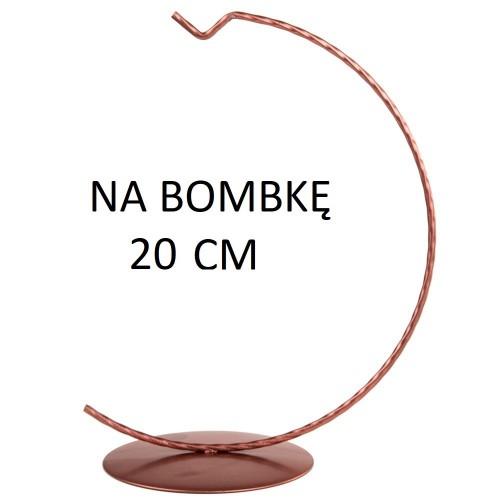 STOJAK NA BOMBKĘ 20 CM ROSE GOLD