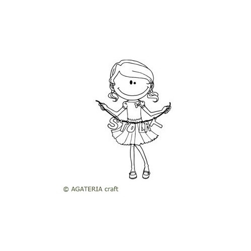 AGATAERIA CRAFT STEMPEL -  MATYLDA STO LAT
