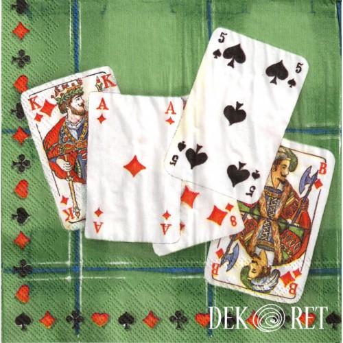 SERWETKA - KARTY, TALIA KART