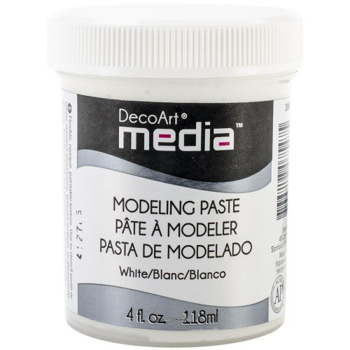 DECOART MODELING PASTE WHITE 118 ML PASTA MODELUJĄCA