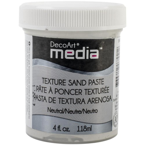 DECOART TEXTURE SAND PASTE 118 ML PASTA PIASKOWA
