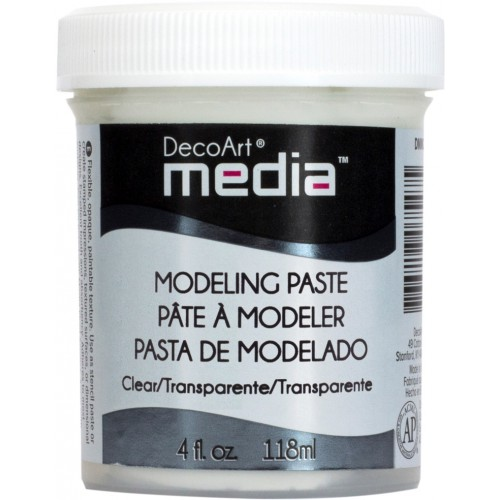 DECOART  MODELING PASTE CLEAR 118 ML PASTA TRANSPARENTNA