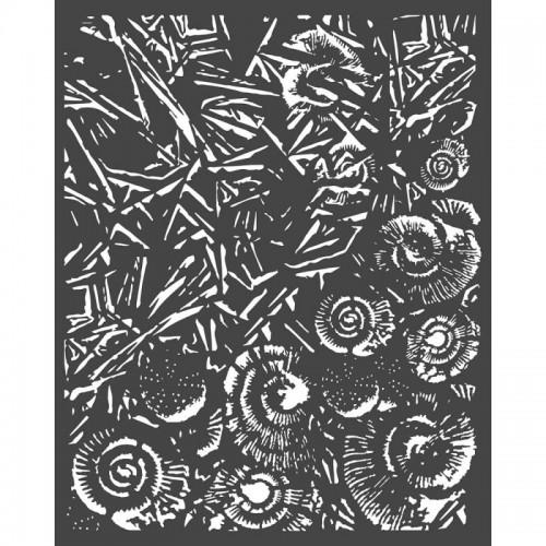 SZABLON  3D ARCTIC LÓD I MUSZLE 20x25  CM