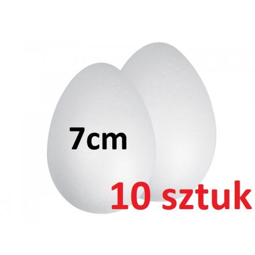 JAJKO STYROPIANOWE 7 CM - 10 SZTUK