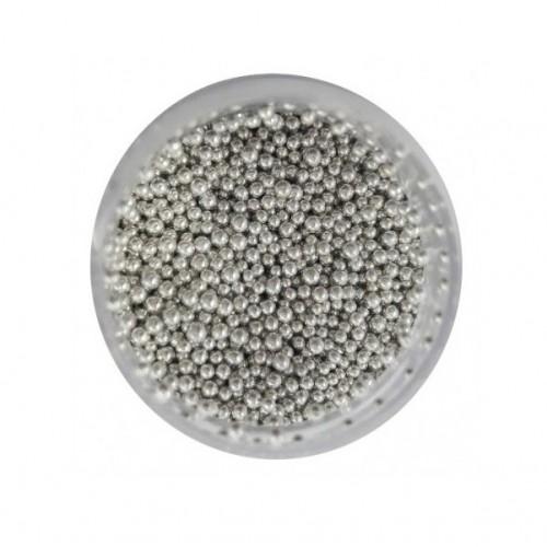 MIKROKULKI 1,2mm 60g SREBRO PLATYNOWE