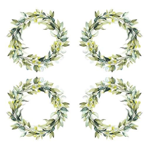 BLOCZEK  15 X 15 CM  ZŁOTE SNY - FLOWERS