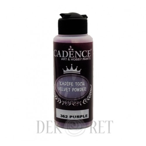 PUDER VELVET POWDER 120ML PURPUROWY