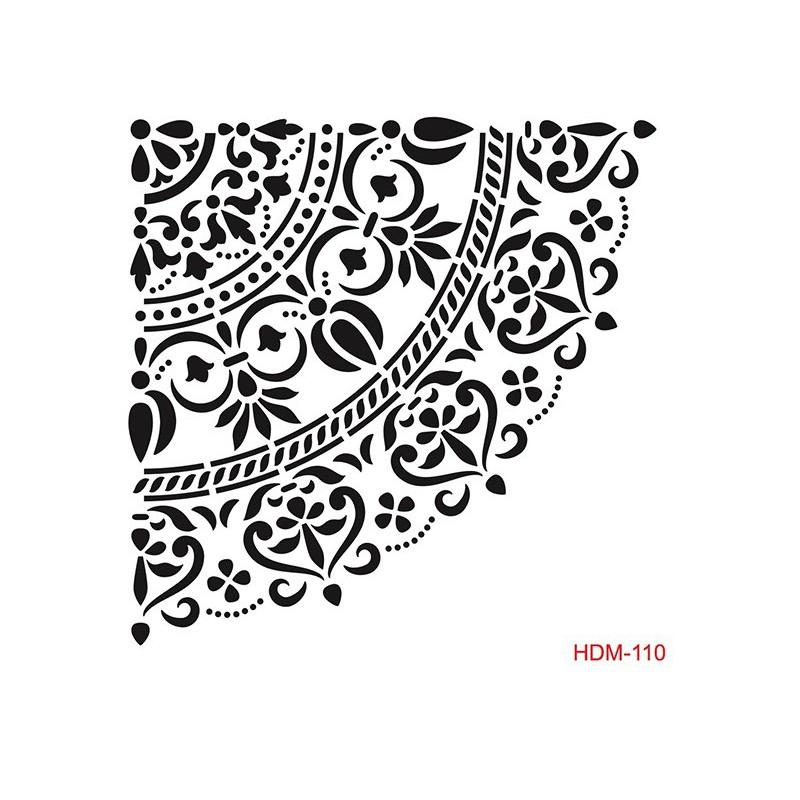 SZABLON - KORONKA 25X25