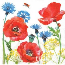 Maki i polne kwiaty