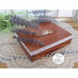 Pudełka i dekoracje ślubne